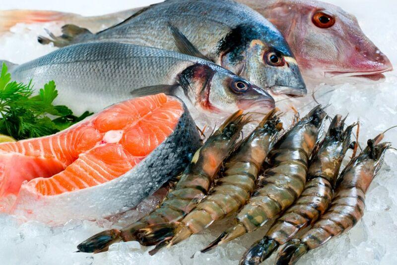 Рыба и моллюски