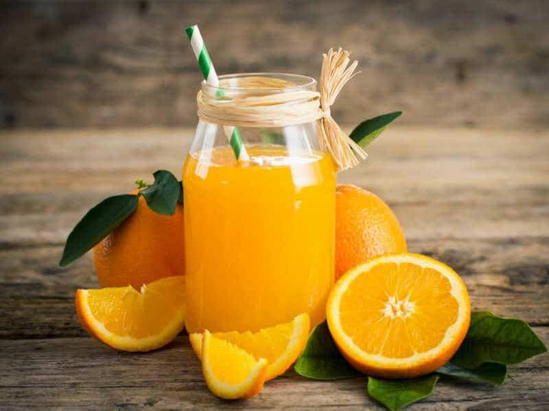 Апельсиновый сок и потеря веса