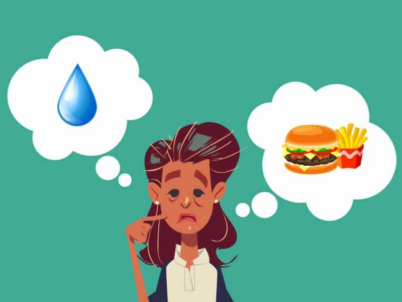 Разница между голодом и жаждой