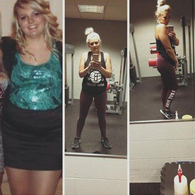 Фотографии женщины до и после похудения 8
