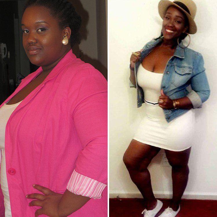 Фотографии женщины до и после похудения 7