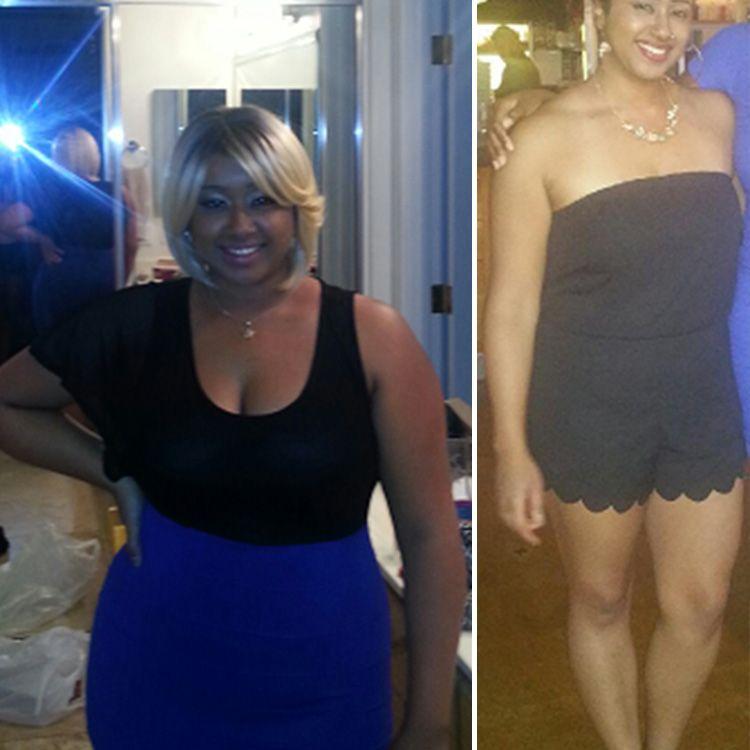 Фотографии женщины до и после похудения 5