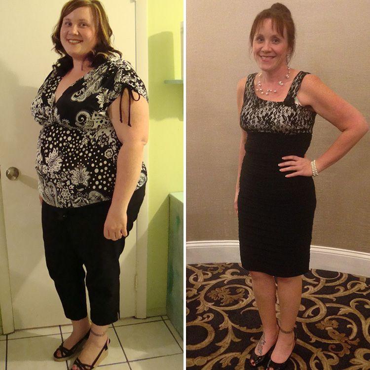 Фотографии женщины до и после похудения 3