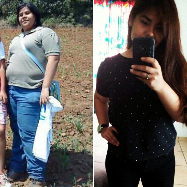 Фотографии женщины до и после похудения 2