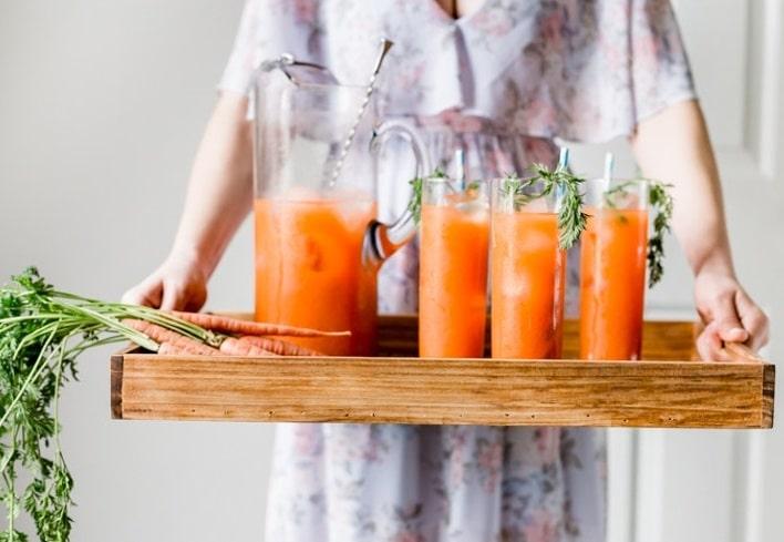 Преимущества морковного сока для похудения
