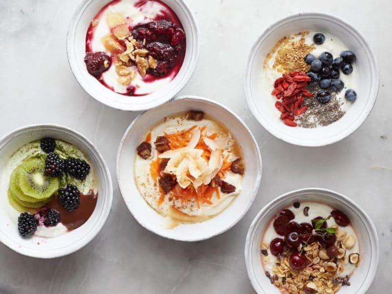 Домашний йогурт с фруктами