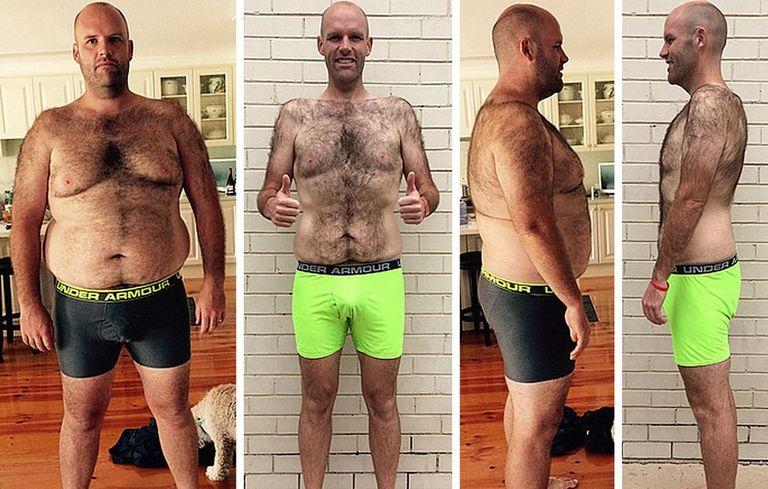 Фото результаты похудения на картофельной диете до и после
