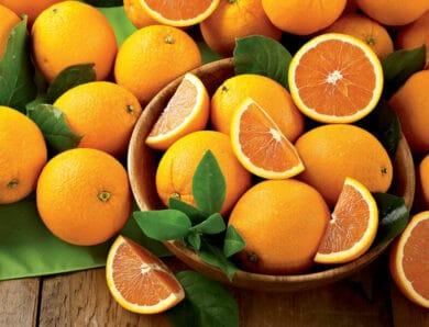 Апельсины и потеря веса