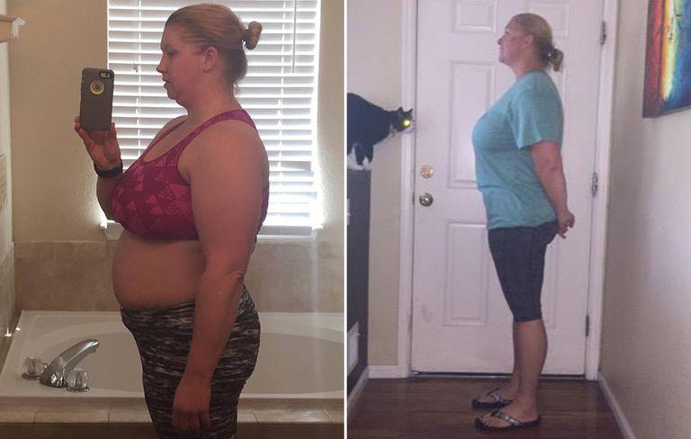 Фотографии похудения Кэти Хаффман