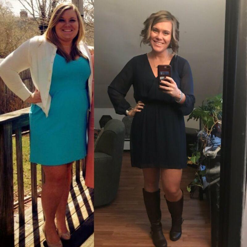 Фотографии до и после похудения Джордан Уоттерс