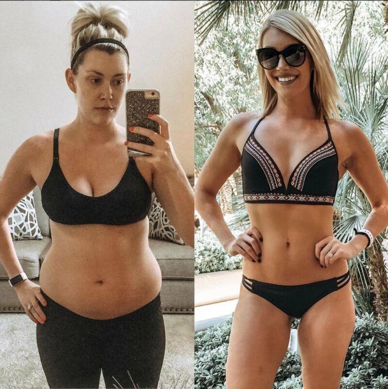 Фотографии похудения Джесс до и после похудения 4