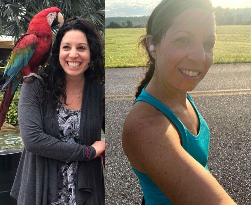 Результаты похудения до и после отказа от масел