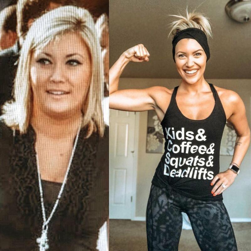 Фотографии до и после похудения Джесс Дьюкс