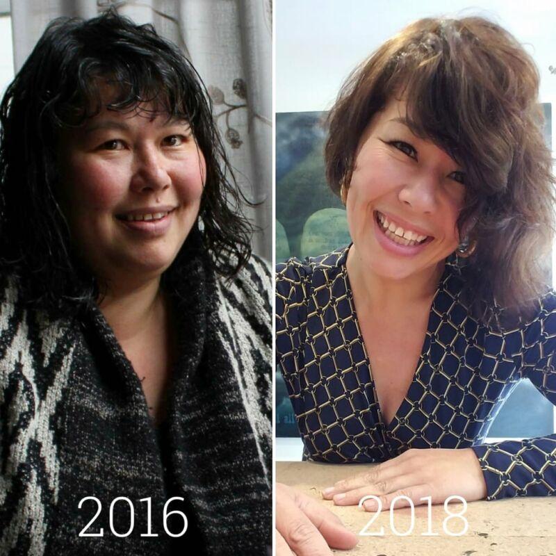 Фотографии до и после похудения Ким Дай