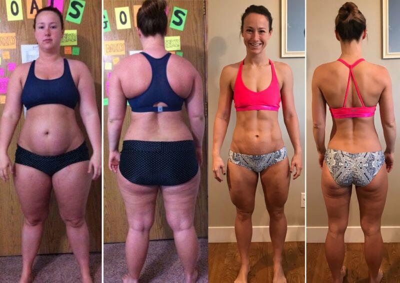 Фотографии до и после похудения Брук Стрейт