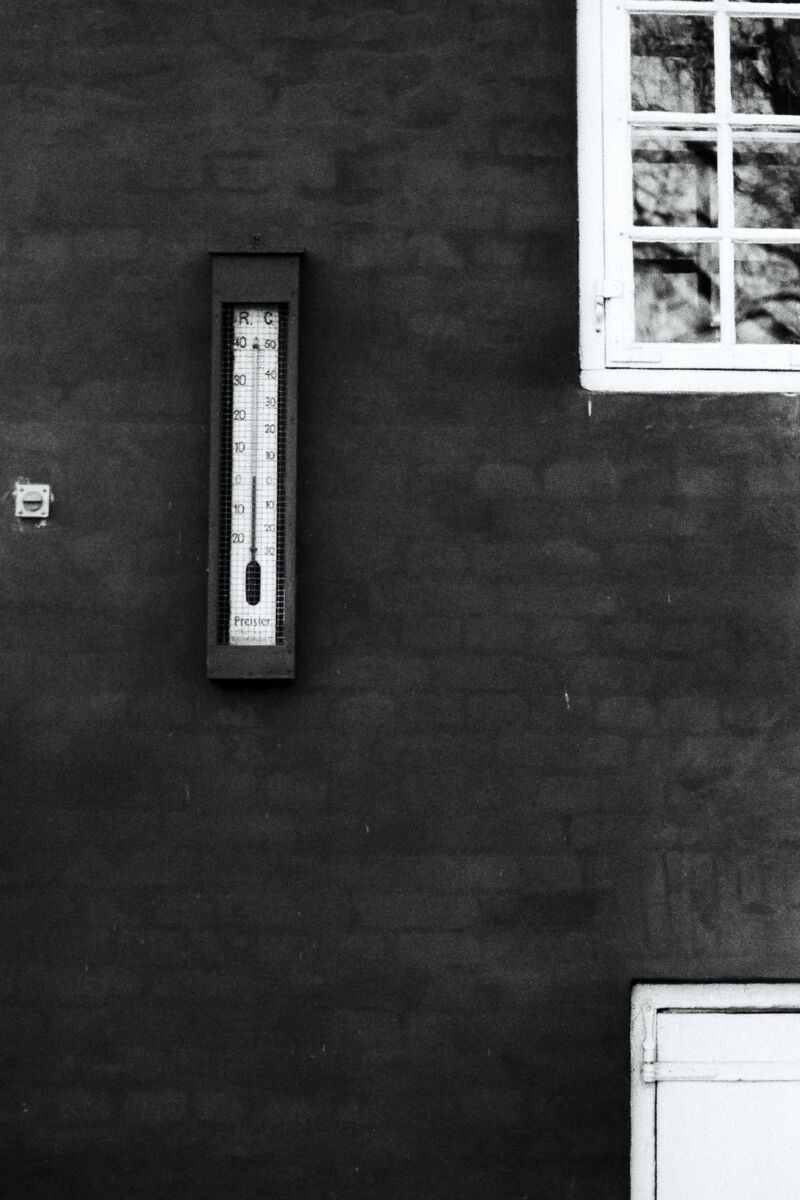Термометр на улице