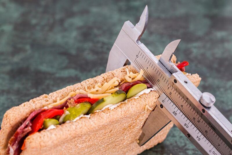 Измерение бутерброда