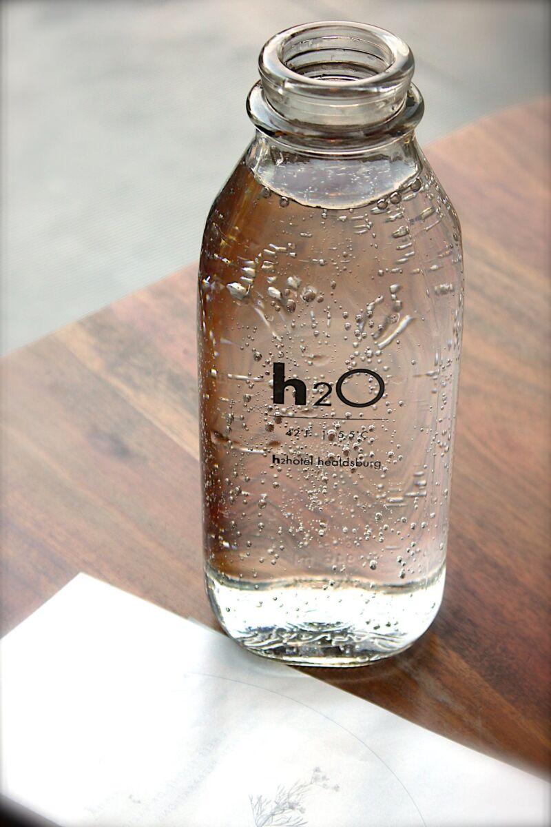 Бутылка с водой